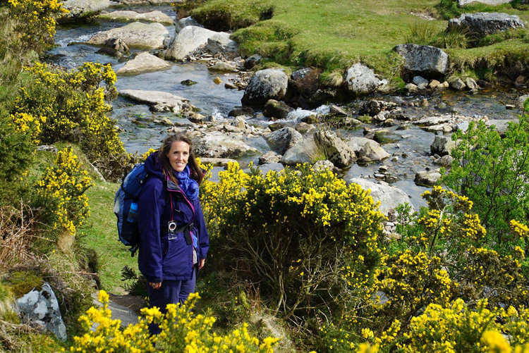 Guided half marathon walk with Dartmoor's Daughter
