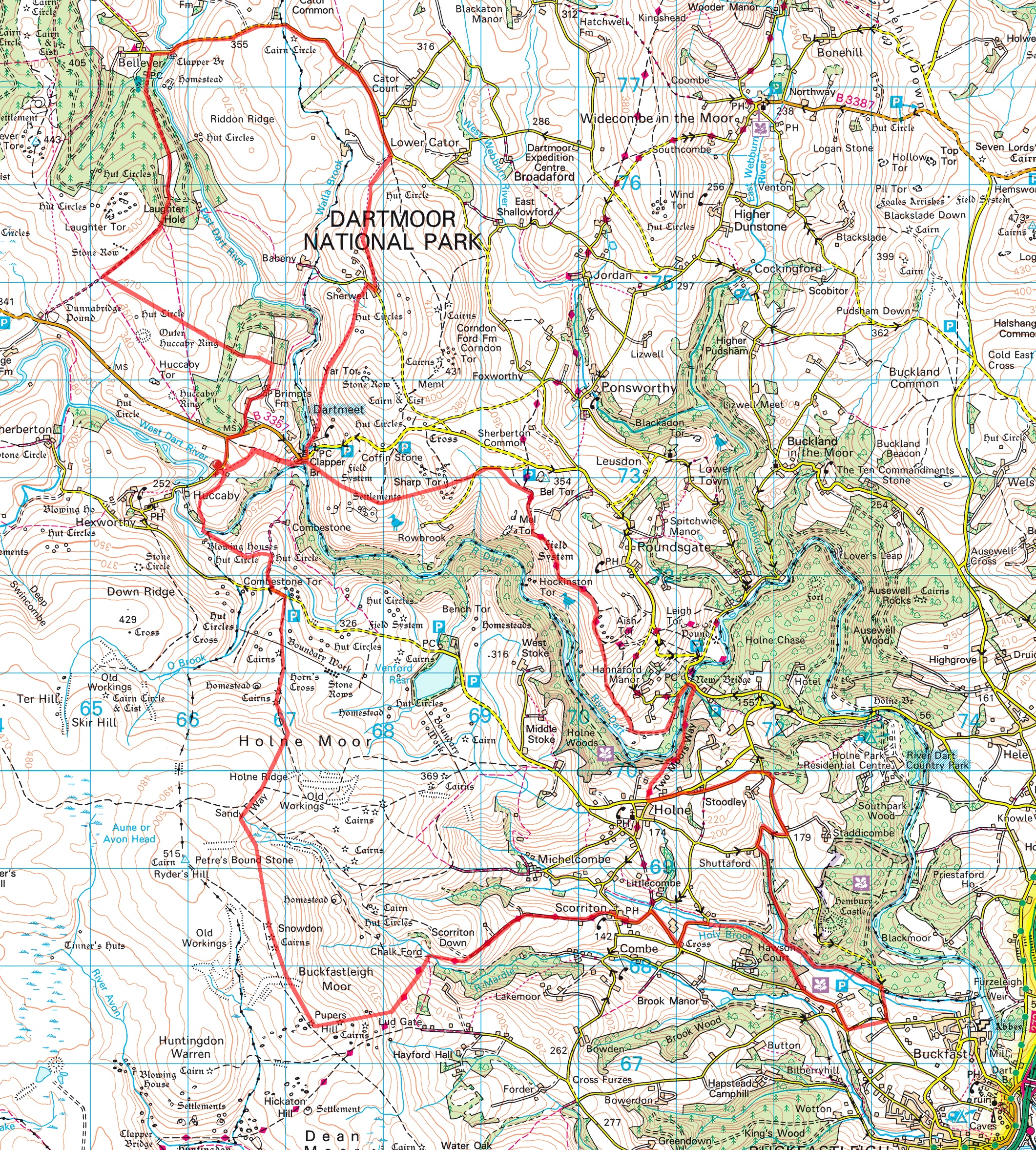 Race Route Maps
