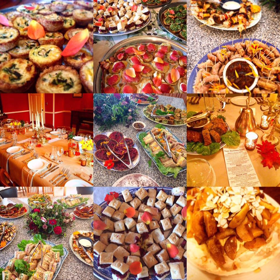 Delicious food provided for Something Wild Runners & Supporters